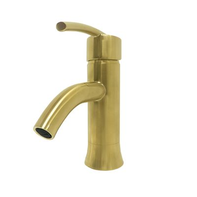 Refina Single Handle Bathroom Vanity Faucet in Gold
